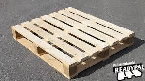 Blokpalletten met zware omloop