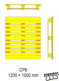 Ontwerptekening CP 6 EPAL