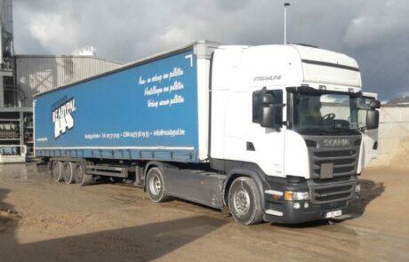 Vrachtwagen Readypal voor pallettenvervoer