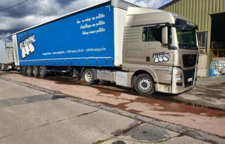 Vrachtwagen Readypal voor pallettentransport
